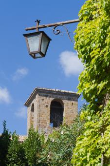 Free Stock Photo of Street lamp in old city