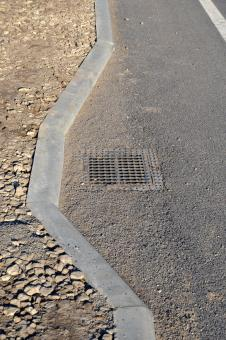 Free Stock Photo of Road gully