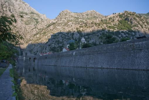 Free Stock Photo of Kotor wall