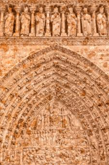 Free Stock Photo of Organic Cathedral Mural