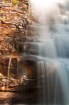 Free Stock Photo of Muddy Creek Rainbow Falls