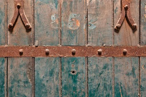 Free Stock Photo of Prison Cell Door - HDR