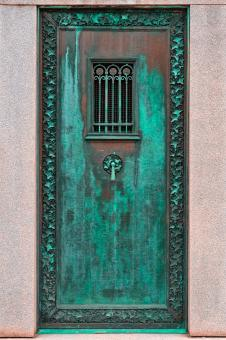 Free Stock Photo of Mausoleum Door - HDR