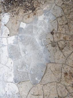 Free Stock Photo of Grey Cracked Concrete Texture