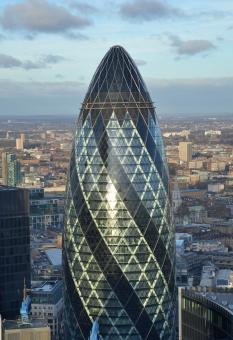 Free Stock Photo of The Gherkin
