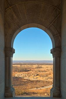 Free Stock Photo of Gateway to Gettysburg - HDR