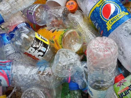 Free Stock Photo of Recycled Plastic Bottles