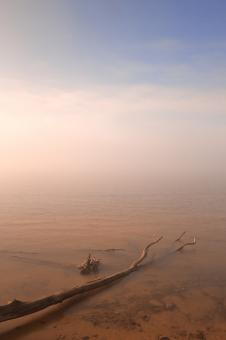 Free Stock Photo of Misty Chesapeake Bay - HDR