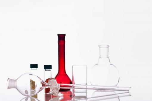 Free Stock Photo of Chemistry Experiment Glassware