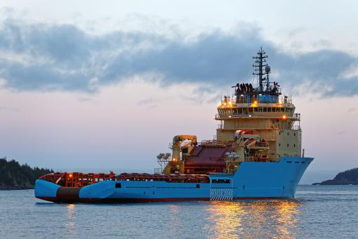 Free Stock Photo of Offshore supply vessel