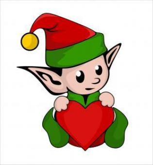 Free Stock Photo of Cute elf