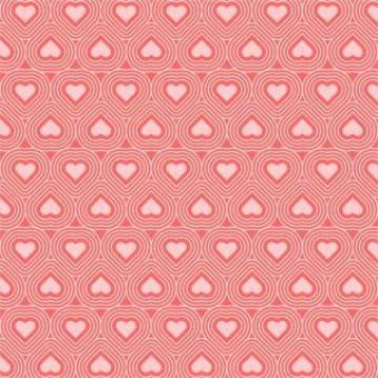 Free Stock Photo of Heart seamless vector pattern
