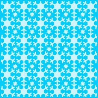Free Stock Photo of Snowflakes vector pattern