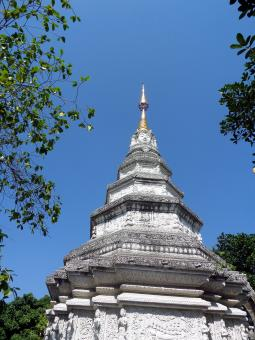 Free Stock Photo of Thai Buddhist pagoda