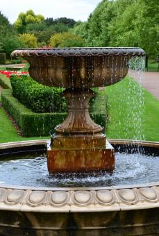 Free Stock Photo of Fountain at Regent's park in London