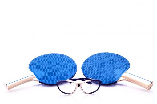 Free Stock Photo of Ping pong rackets