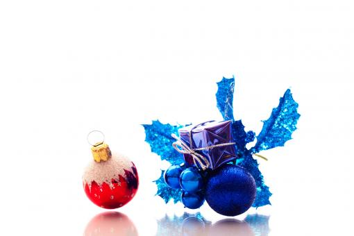 Free Stock Photo of Christmas ornaments