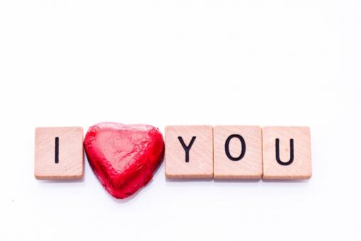 Free Stock Photo of I love you