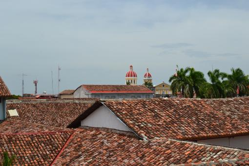 Free Stock Photo of Granada, Nicaragua Rooftops