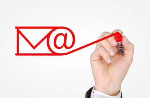Free Stock Photo of Sending E-mail Concept - Email and Newsletters Campaign