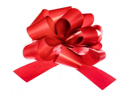 Free Stock Photo of Red Bow