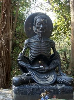Free Stock Photo of Emaciated Buddha