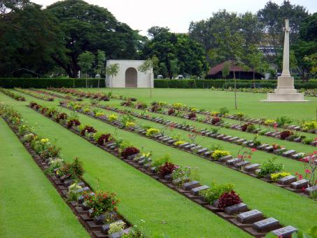 Free Stock Photo of Allied Forces Cemetery, Thailand