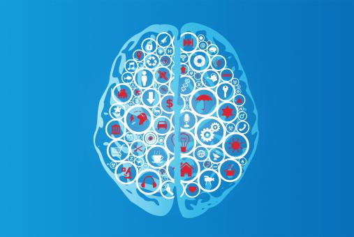 Free Stock Photo of Brain Functions as App Icons