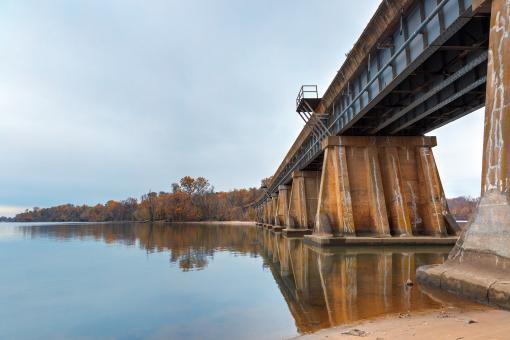 Free Stock Photo of Rustic Leesylvania Bridge - HDR
