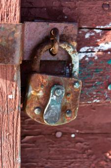 Free Stock Photo of Door with Lock