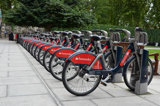 Free Stock Photo of Bicycles in London