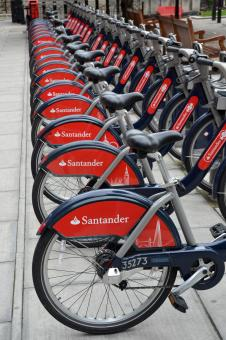 Free Stock Photo of Santander bikes