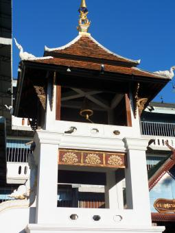 Free Stock Photo of Buddhist temple bell tower