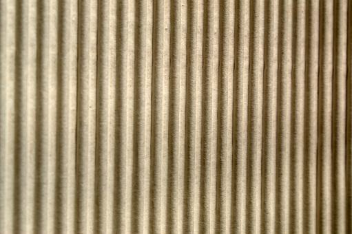 Free Stock Photo of Corrugated cardboard texture