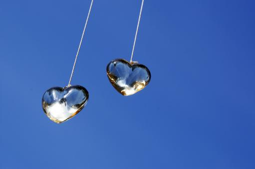 Free Stock Photo of Two hearts