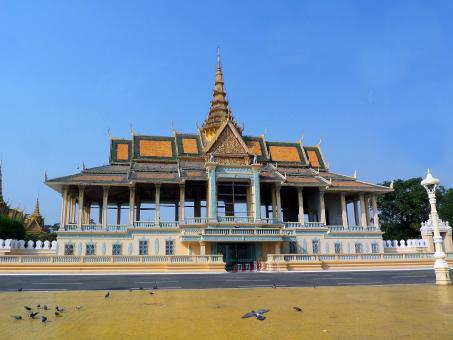 Free Stock Photo of Royal Palace Pavilion, Phnom Penh