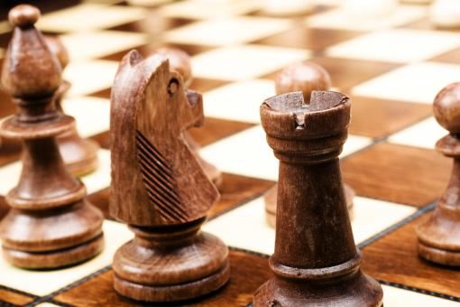 Free Stock Photo of Chess Game