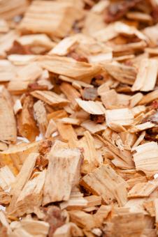 Free Stock Photo of Wood Chips Background