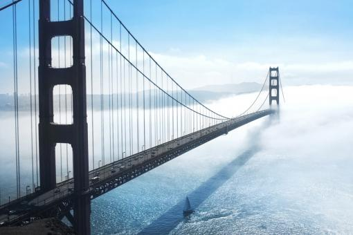 Free Stock Photo of Golden Gate Bridge