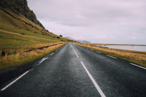 Free Stock Photo of The Road to Town