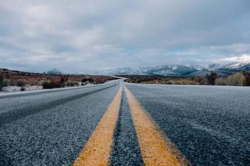 Free Stock Photo of Road Upclose
