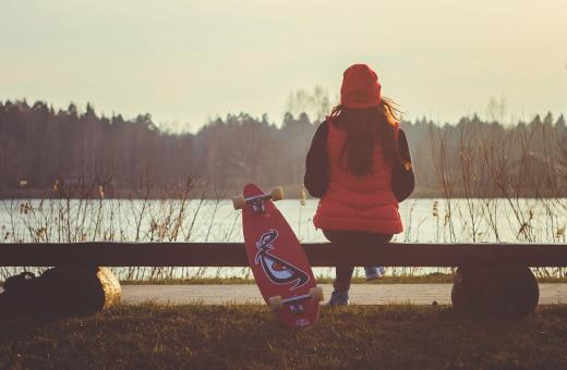 Free Stock Photo of Overlooking the lake
