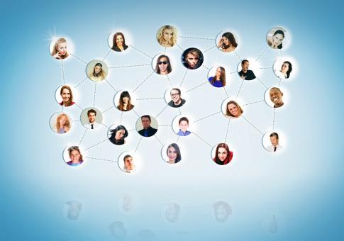 Free Stock Photo of A Network of People - Networking Concept