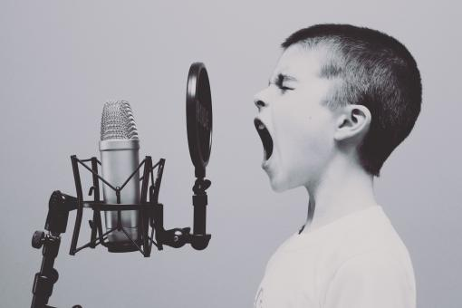 Free Stock Photo of Singing.....