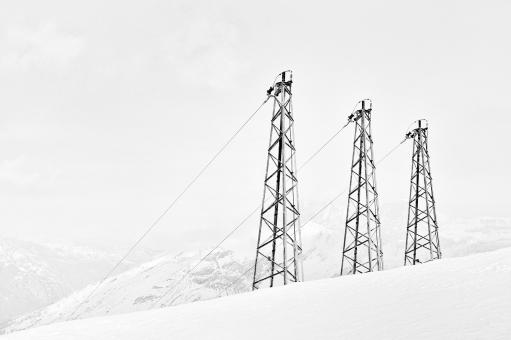 Free Stock Photo of Chairlifts