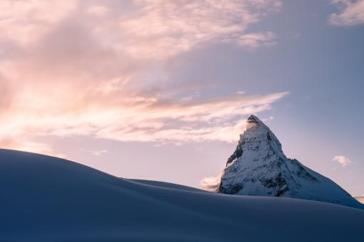 Free Stock Photo of Winter Peak