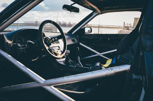 Free Stock Photo of Race Car Interior