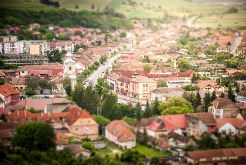 Free Stock Photo of A Town