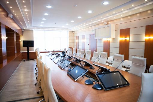 Free Stock Photo of Business meeting room