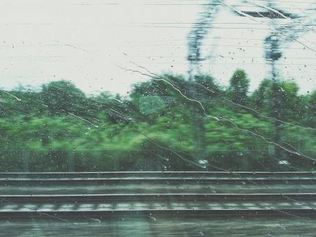 Free Stock Photo of Raining